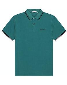 Ben Sherman Signature Pique Polo Shirt Teal