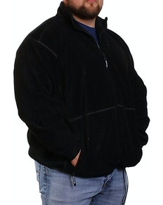 Metaphor Black Full Zip Fleece Jacket