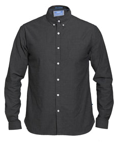D555 Nebraska Stretch Long Sleeve Shirt Navy