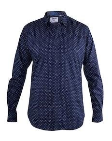 D555 Augusta Printed Shirt Navy