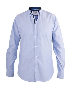 D555 Clarence Buttoned Down Oxford Shirt Blue