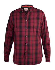 D555 Benalla Check Long Sleeve Button Down Shirt