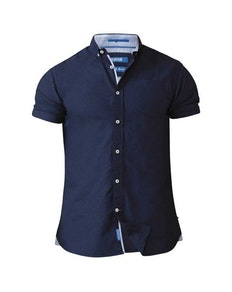 D555 Norman Oxford Shirt Navy Tall