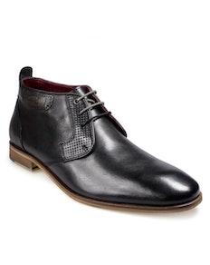 POD Fresno Lace Up Boots Black