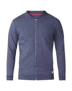 D555 Arnie Sweat Jacket Navy Tall