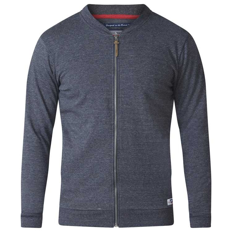 D555 Arnie Sweat Jacket Charcoal Tall