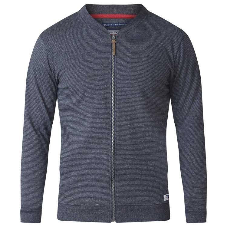 D555 Arnie Sweat Jacket Charcoal Tall