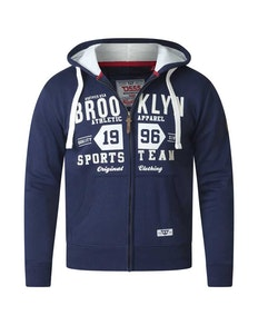 D555 Thurston Hoody Tall Navy