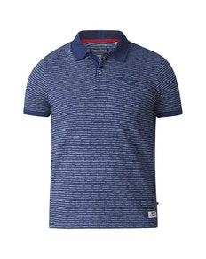 D555 Flozell Polo Shirt Navy