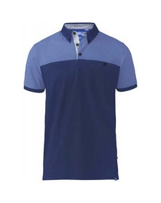 D555 Jauram Polo Shirt Navy Tall