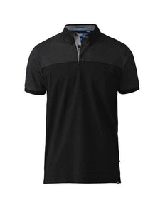 D555 Jauram Polo Shirt Black Tall