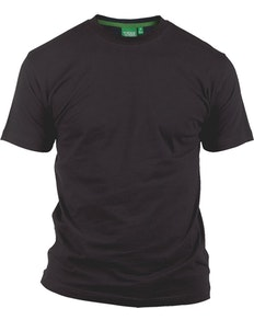 D555 Premium Cotton T-Shirts Black