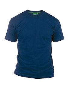 D555 Premium Cotton T-Shirt Navy
