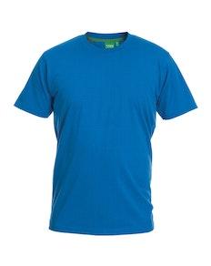 D555 Premium Cotton T-Shirt Blue