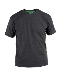 D555 Premium Cotton T-Shirts Charcoal