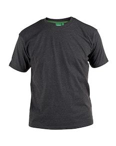 D555 Premium Cotton T-Shirts Charcoal