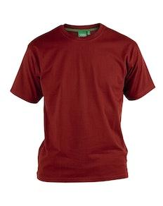 D555 Premium Cotton T-Shirts Red