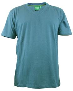 D555 Premium V -Neck T-Shirt Teal