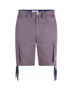 D555 Fletcher Cargo Shorts Grey