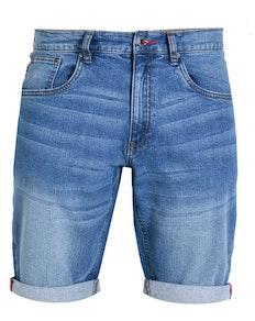 D555 Griffin Stretch Denim Shorts Stonewash