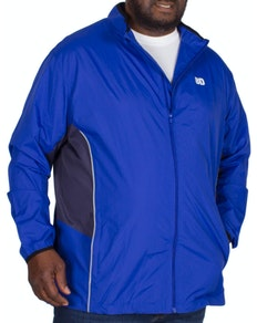 Bigdude Lightweight Contrast Showerproof Jacket Royal Blue
