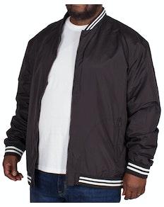 Bigdude Varsity Bomber Jacket Black