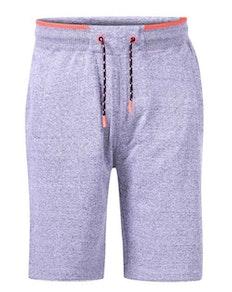 D555 Electra Ribbed Waist Fleece Shorts Charcoal