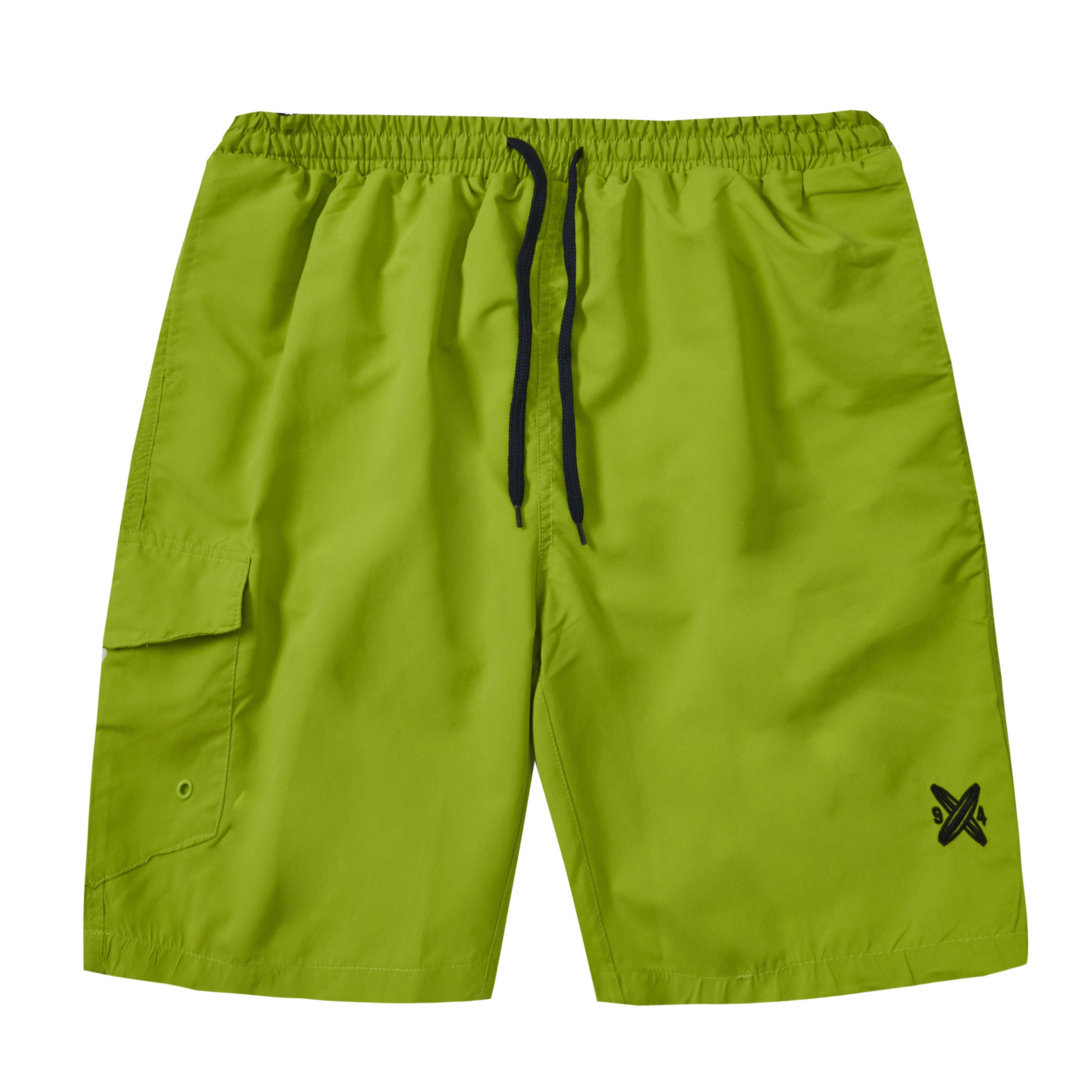 Baum Side Pocket Swim Shorts Green