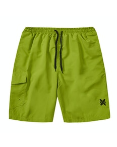 Side Pocket Swim Shorts Green