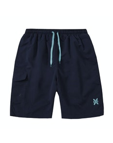 Side Pocket Swim Shorts Navy