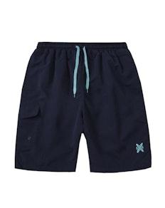 Side Pocket Swim Shorts Navy