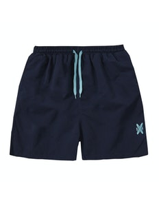 Embroidered Swim Shorts Navy