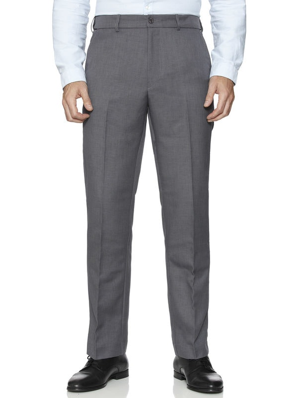 Farah Flexi Waist Trouser Grey