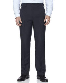 Farah Flexi Waist Trouser Navy