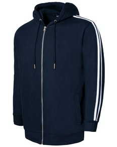 Bigdude Twin Stripe Hoody Navy Tall