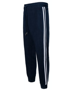 Bigdude Twin Stripe Joggers Navy