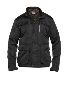 D555 Brentford Padded Coat Black