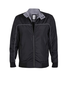 D555 Barnes Couture Harrington Jacket Black