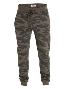 D555 Sutton Joggers Green Camo