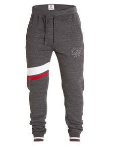 D555 Willis Cuffed Hem Joggers Charcoal
