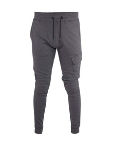 D555 Riley Couture Jogger With Leg Pocket Grey