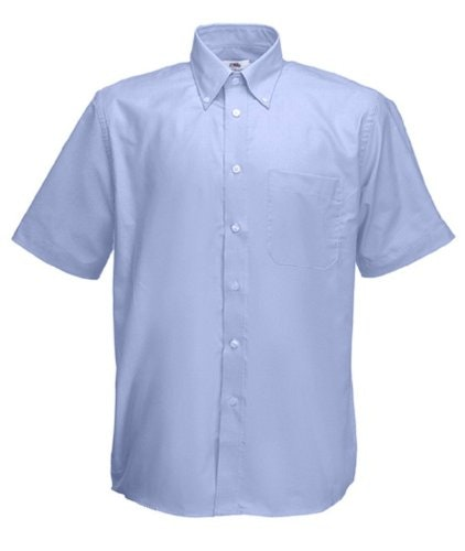 Fruit of the Loom Blue Oxford Shirt