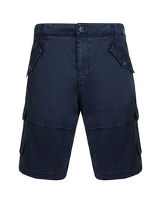 KAM Stretch Cargo Shorts Navy
