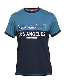 D555 Jackson Ringer T-shirt Teal