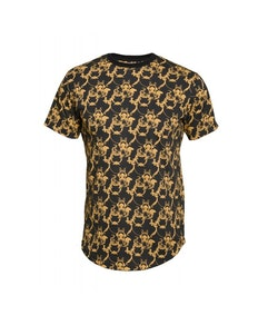 D555 Dave All Over Print T-Shirt Black