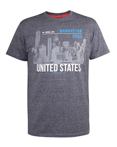 D555 Fairfield Manhattan Sky Line T-Shirt