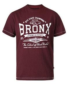 D555 Huddlestone Bronx Boxing Crew Neck T-Shirt Red