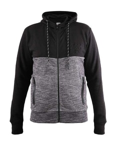 D555 Finnley Couture Hoody With Chest Embroidery Black