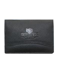 The British Bag Company Black Leather Passport Holder