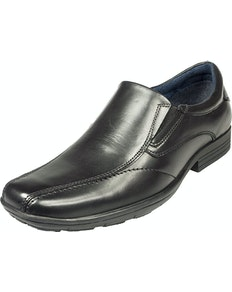 POD Dundee Slip On Shoes Black